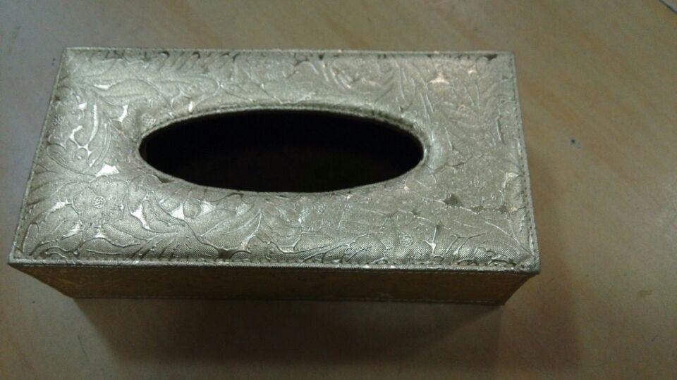 金色闪电纹纸巾盒 抽纸盒 KTV手纸盒 餐厅餐巾盒(闪电纹纸巾盒)