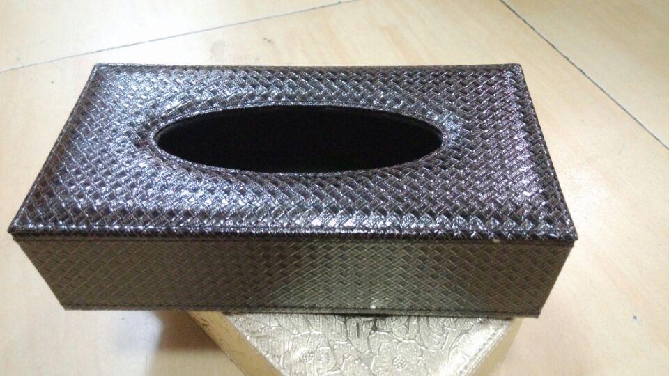 靓草席纹纸巾盒 抽纸盒 KTV手纸盒 餐厅餐巾盒(靓草席纹纸巾盒)
