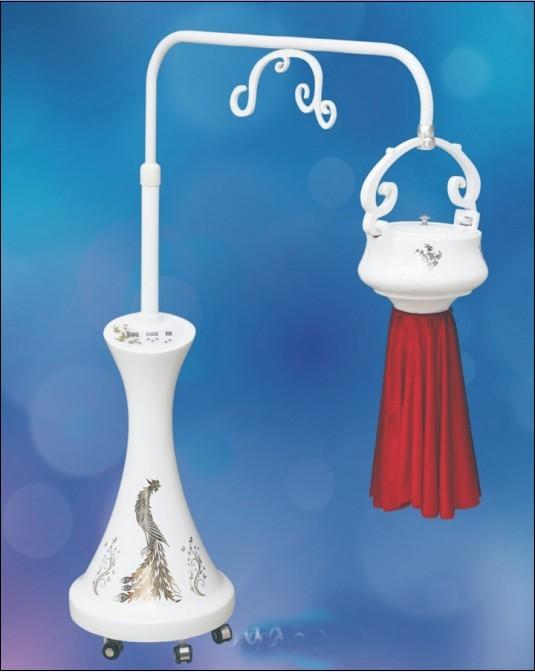 新款艾灸仪器悬灸仪无烟立式家用温灸仪器具妇科艾灸盒中华神灸仪