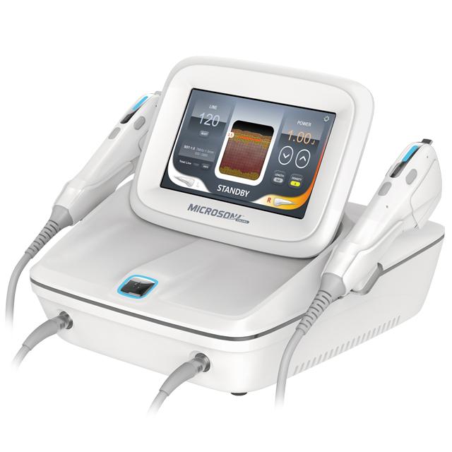 韩国恩盛进口 台式超声刀 Microson Dual 抗衰系统 紧致提升 淡化法令纹