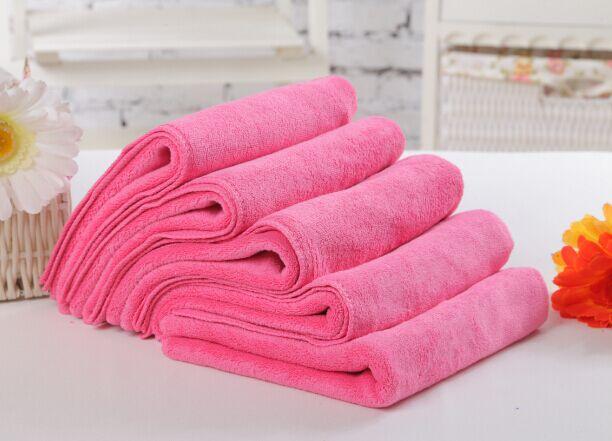 洁雅婷铺床浴巾180*80美容院浴巾吸水铺床汗蒸浴巾