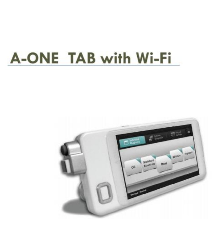 A-ONE TAB with wifi检测仪 面部检测仪